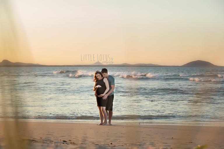 sunshine coast pregnant photos