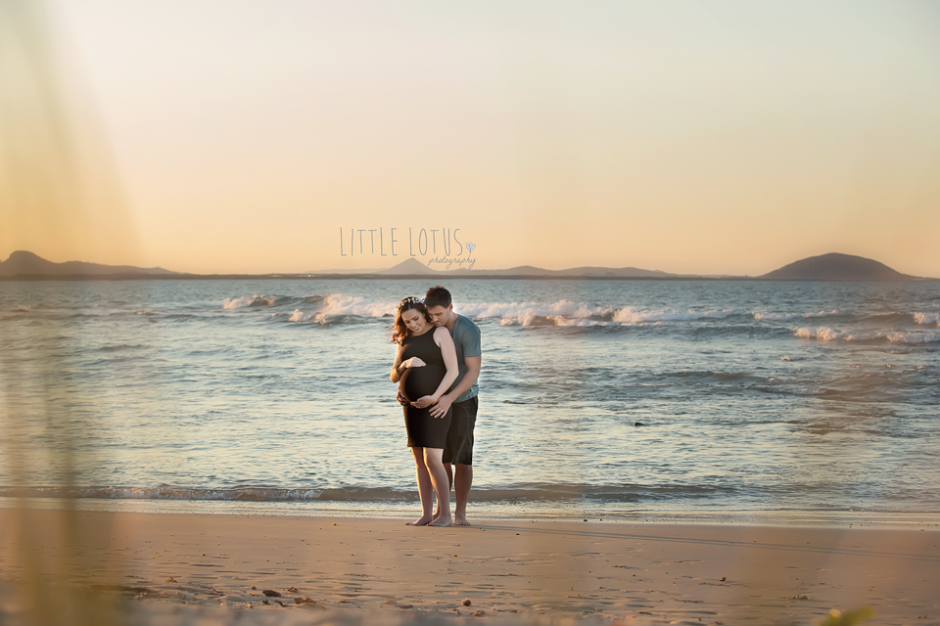 sunshine coast pregnant photos