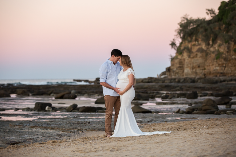 maternity and newborn photos sunshine coast